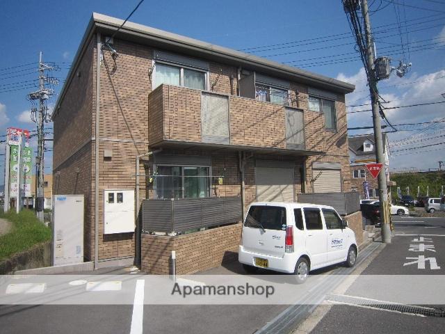 京都府木津川市、祝園駅徒歩24分の築3年 2階建の賃貸アパート
