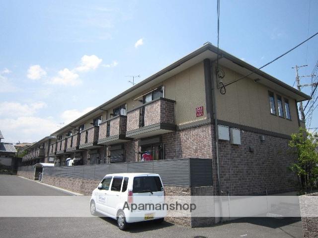 京都府相楽郡精華町、祝園駅徒歩8分の築10年 2階建の賃貸アパート
