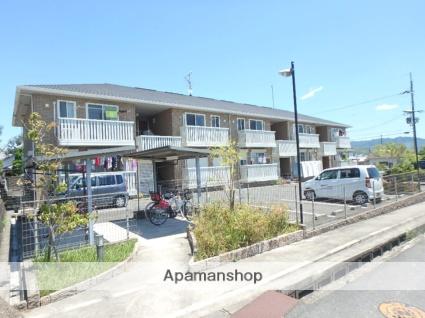 京都府相楽郡精華町、下狛駅徒歩7分の築7年 2階建の賃貸アパート