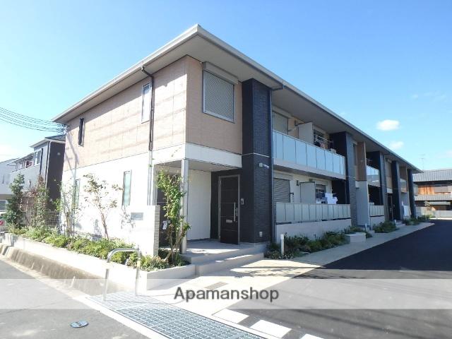 京都府木津川市、木津駅徒歩17分の新築 2階建の賃貸アパート