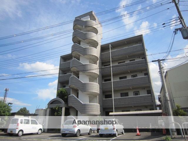 京都府木津川市、木津駅徒歩15分の築21年 5階建の賃貸マンション