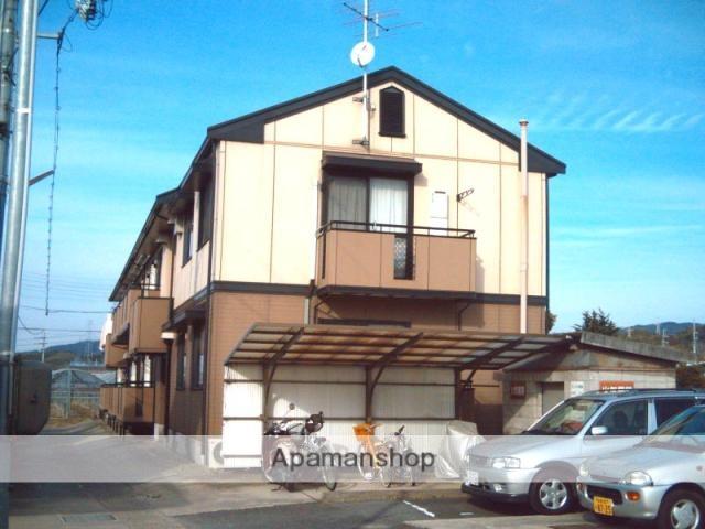 京都府木津川市、上狛駅徒歩10分の築21年 2階建の賃貸アパート