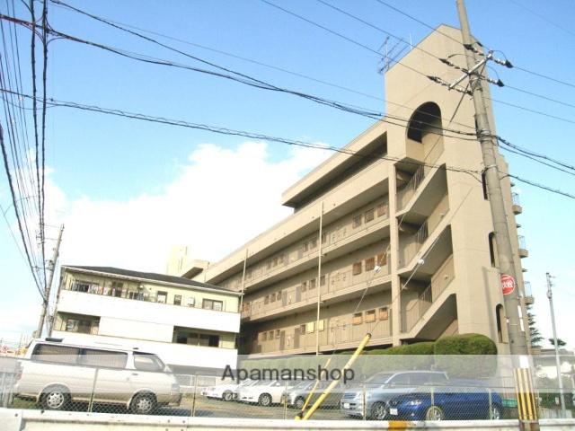 京都府八幡市、八幡市駅徒歩22分の築31年 5階建の賃貸マンション