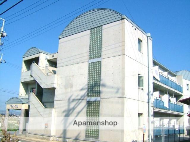 京都府相楽郡精華町、下狛駅徒歩5分の築29年 3階建の賃貸マンション