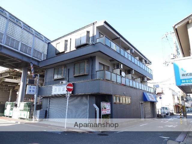 京都府相楽郡精華町、祝園駅徒歩2分の築21年 3階建の賃貸マンション