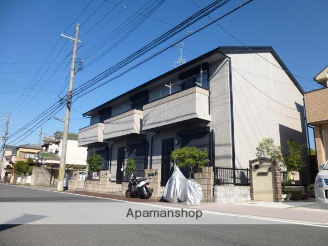 京都府京田辺市、同志社前駅徒歩25分の築14年 2階建の賃貸アパート