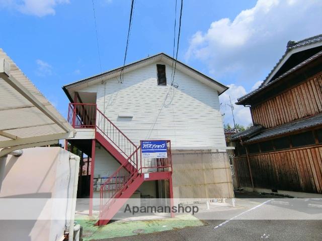 京都府京田辺市、JR三山木駅徒歩7分の築28年 2階建の賃貸アパート