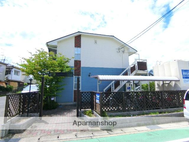 京都府京田辺市、同志社前駅徒歩10分の築23年 2階建の賃貸アパート