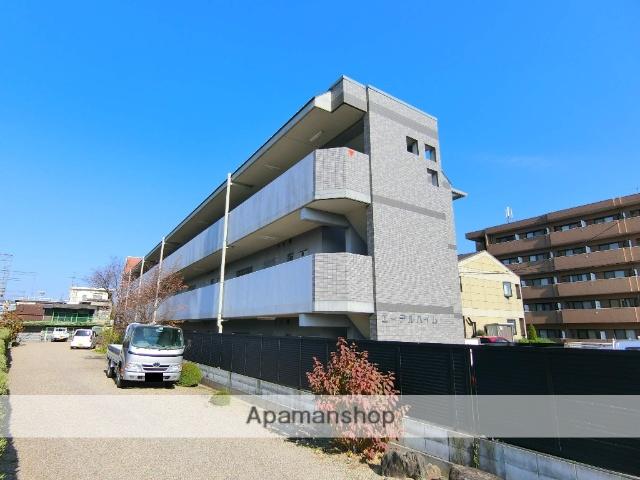 京都府相楽郡精華町、祝園駅徒歩2分の築12年 3階建の賃貸マンション