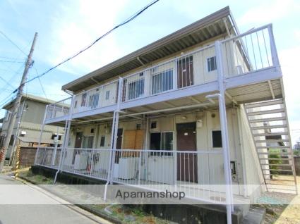 京都府京田辺市、京田辺駅徒歩5分の築40年 2階建の賃貸アパート