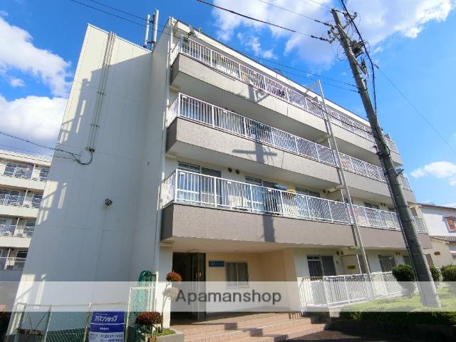 京都府京田辺市、JR三山木駅徒歩11分の築30年 4階建の賃貸マンション