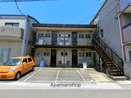 京都府京田辺市、京田辺駅徒歩8分の築43年 2階建の賃貸アパート