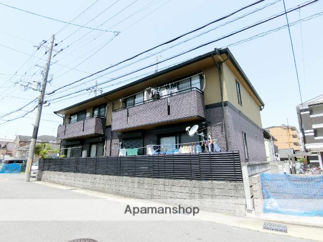 京都府京田辺市、同志社前駅徒歩17分の築19年 2階建の賃貸アパート