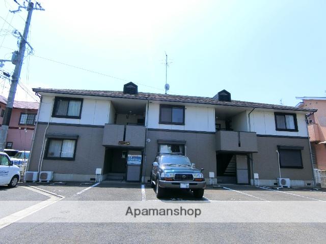 京都府京田辺市、同志社前駅徒歩23分の築21年 2階建の賃貸アパート
