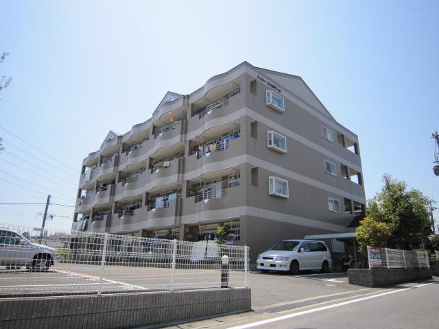 京都府京田辺市、大住駅徒歩1分の築19年 4階建の賃貸マンション
