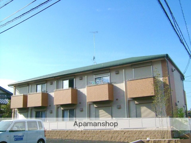 京都府京田辺市、同志社前駅徒歩17分の築9年 2階建の賃貸アパート