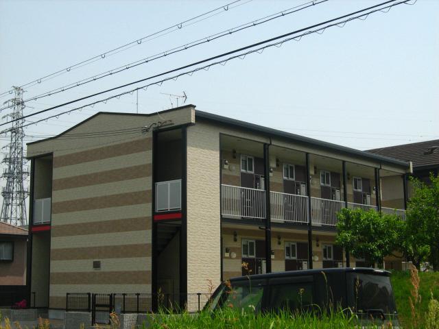 京都府木津川市、高の原駅徒歩17分の築10年 2階建の賃貸アパート