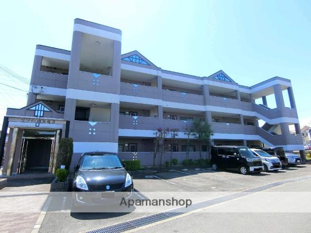 京都府京田辺市、JR三山木駅徒歩5分の築17年 3階建の賃貸マンション