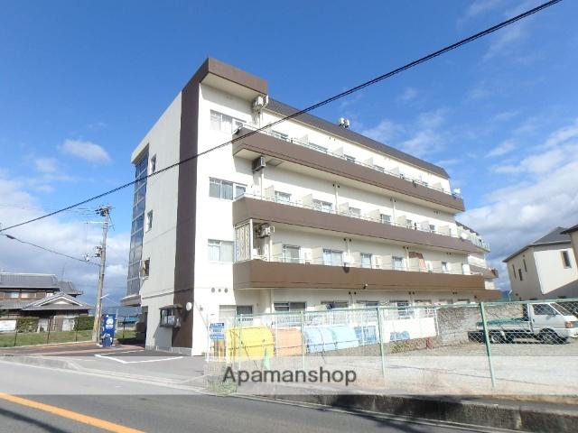 京都府木津川市、西木津駅徒歩9分の築30年 4階建の賃貸マンション