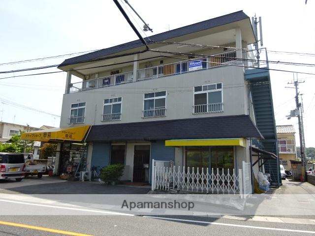 京都府京田辺市、京田辺駅徒歩9分の築35年 3階建の賃貸マンション