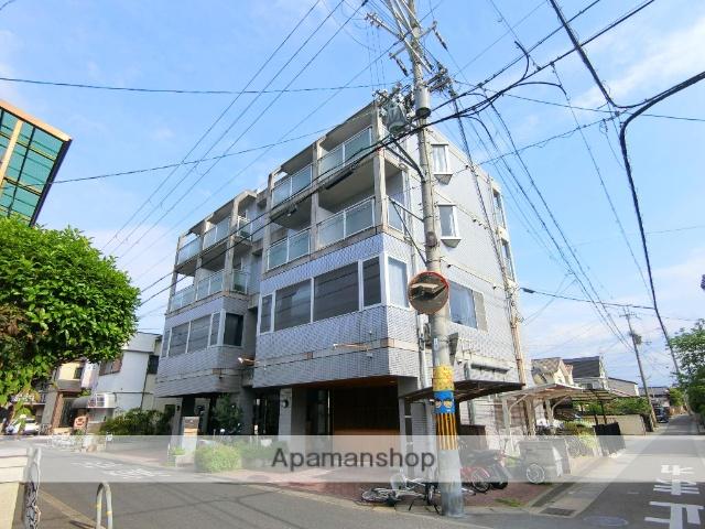 京都府城陽市、城陽駅徒歩10分の築23年 4階建の賃貸マンション