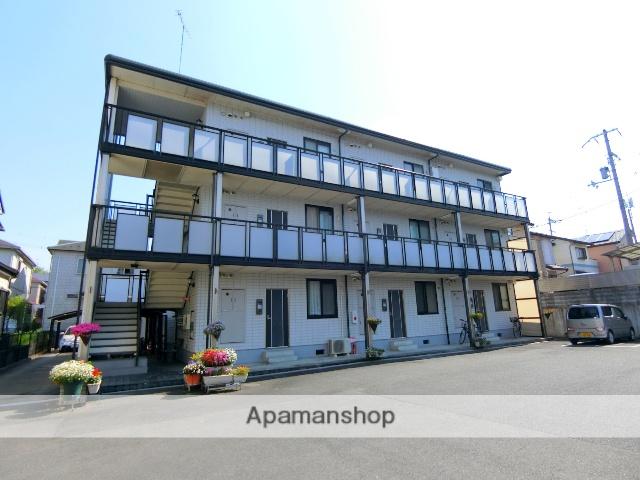京都府京田辺市、京田辺駅徒歩2分の築22年 3階建の賃貸マンション
