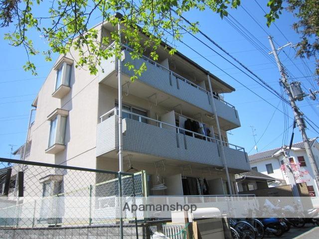 京都府京田辺市、同志社前駅徒歩35分の築29年 3階建の賃貸マンション