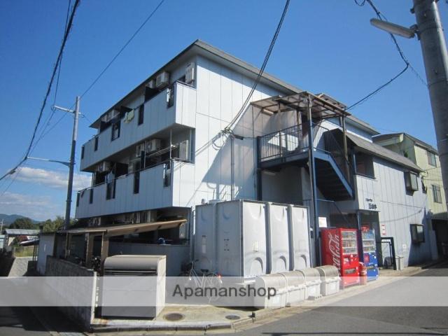 京都府京田辺市、JR三山木駅徒歩8分の築28年 3階建の賃貸マンション
