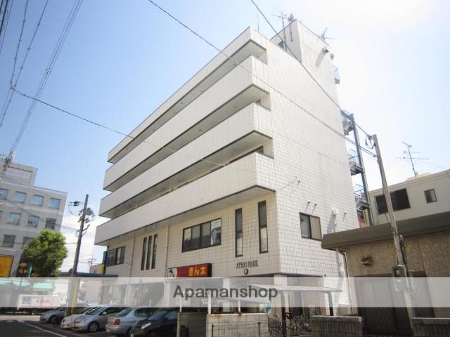 京都府京田辺市、京田辺駅徒歩4分の築18年 5階建の賃貸マンション
