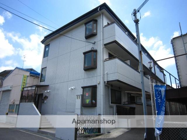 京都府京田辺市、同志社前駅徒歩10分の築28年 3階建の賃貸マンション