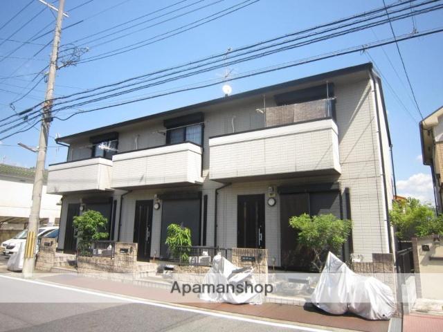 京都府京田辺市、同志社前駅徒歩25分の築15年 2階建の賃貸アパート