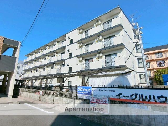 京都府京田辺市、JR三山木駅徒歩7分の築28年 4階建の賃貸マンション