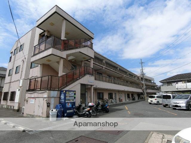 京都府京田辺市、大住駅徒歩5分の築26年 3階建の賃貸マンション