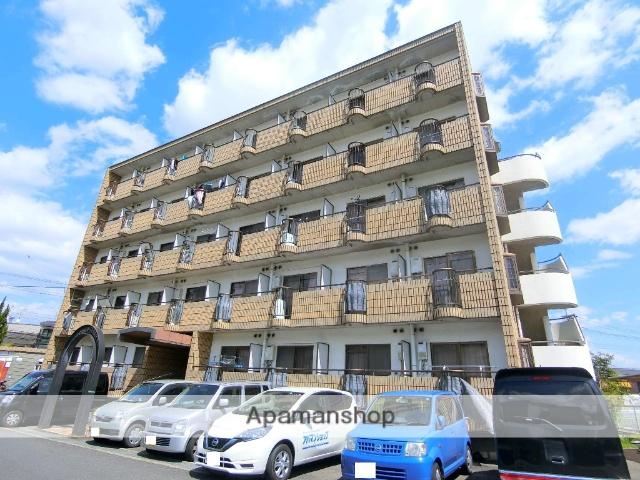 京都府京田辺市、同志社前駅徒歩10分の築30年 5階建の賃貸マンション