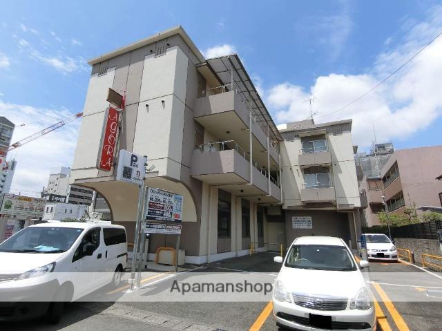 京都府京田辺市、同志社前駅徒歩27分の築23年 3階建の賃貸マンション