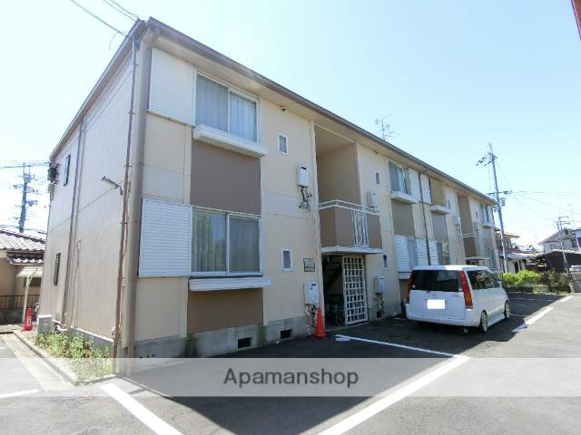 京都府城陽市、長池駅徒歩16分の築28年 2階建の賃貸アパート