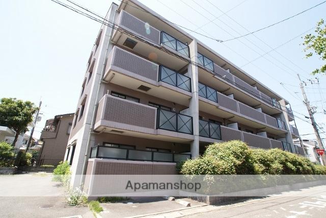 京都府宇治市、伊勢田駅徒歩11分の築16年 4階建の賃貸マンション