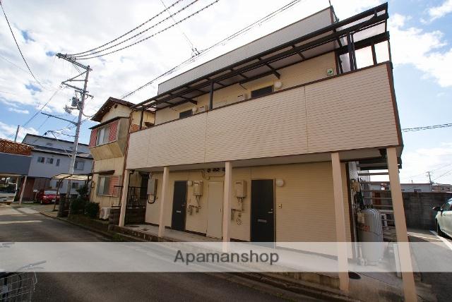 京都府久世郡久御山町の築5年 2階建の賃貸アパート