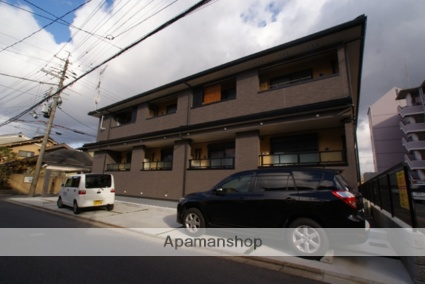 京都府京都市伏見区、伏見駅徒歩19分の築5年 2階建の賃貸アパート