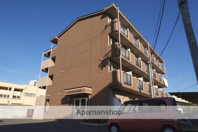 京都府宇治市、新田駅徒歩8分の築17年 4階建の賃貸マンション