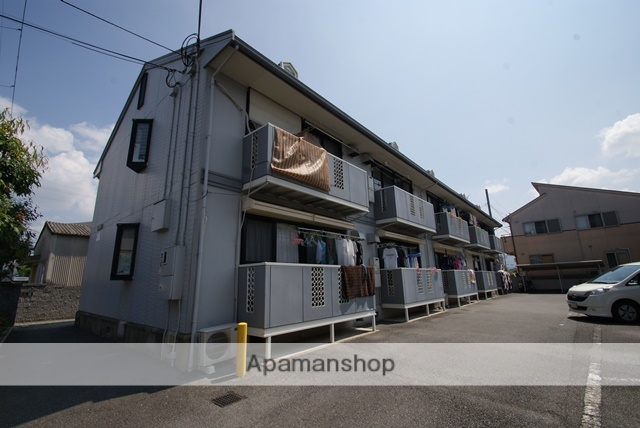 京都府京都市伏見区、桃山御陵前駅徒歩17分の築22年 2階建の賃貸アパート