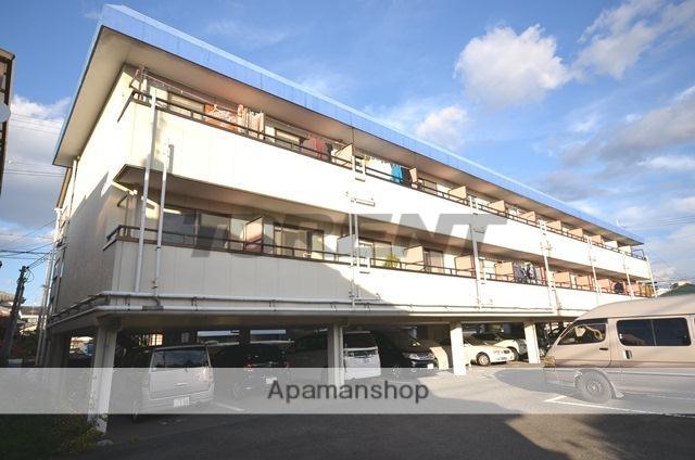 京都府城陽市、城陽駅徒歩10分の築34年 3階建の賃貸マンション
