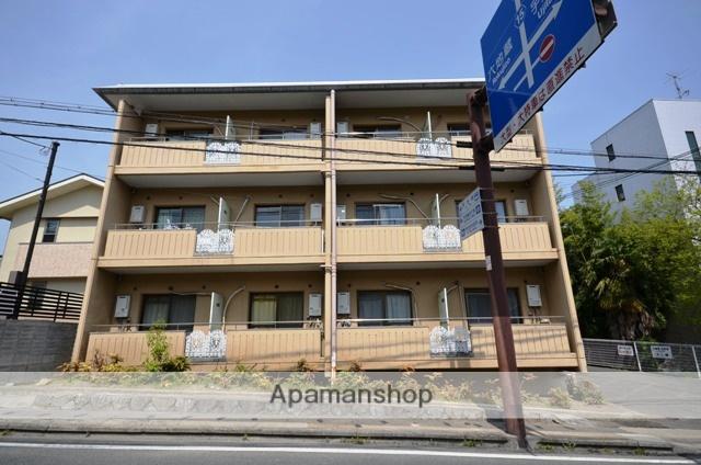 京都府宇治市、宇治駅徒歩7分の築31年 3階建の賃貸マンション