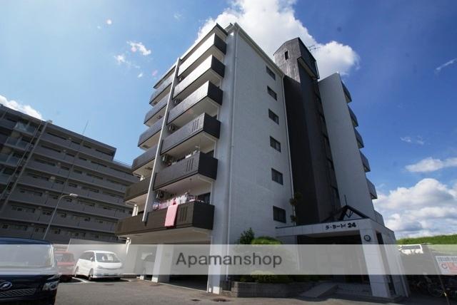 京都府京都市伏見区、長岡京駅徒歩51分の築22年 7階建の賃貸マンション