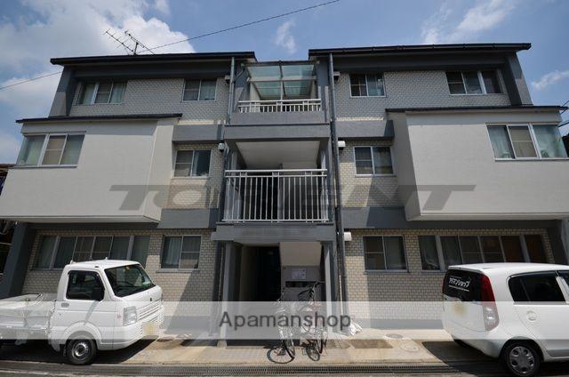 京都府宇治市、黄檗駅徒歩20分の築29年 3階建の賃貸マンション