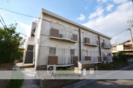 京都府京田辺市、京田辺駅徒歩7分の築31年 2階建の賃貸アパート