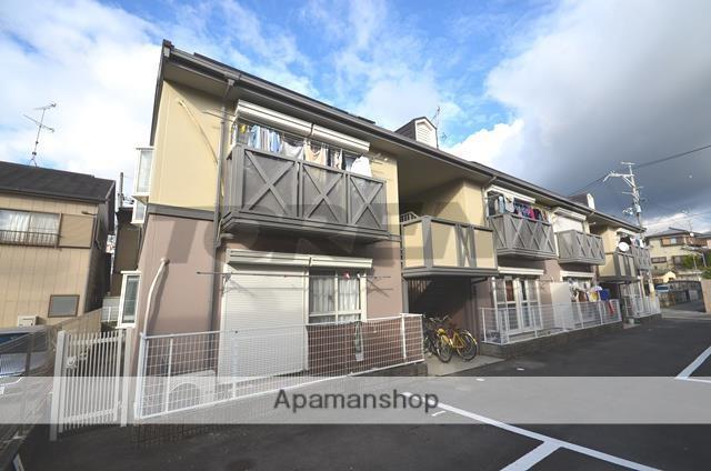 京都府城陽市、城陽駅徒歩7分の築28年 2階建の賃貸アパート