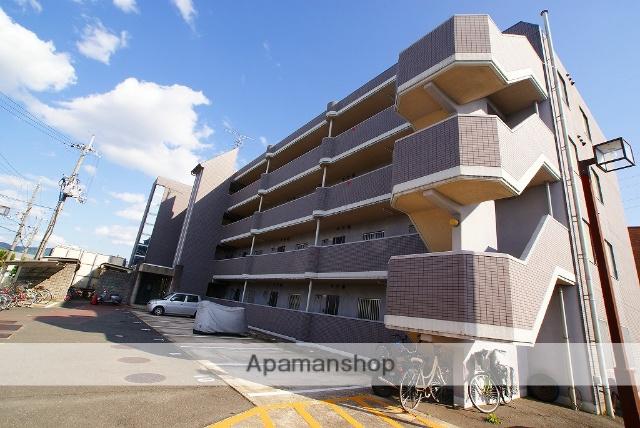 京都府宇治市、小倉駅徒歩20分の築20年 4階建の賃貸マンション