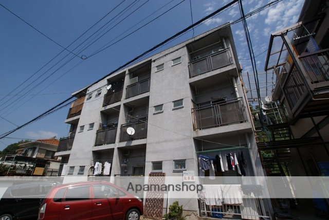 京都府宇治市、木幡駅徒歩7分の築43年 3階建の賃貸マンション