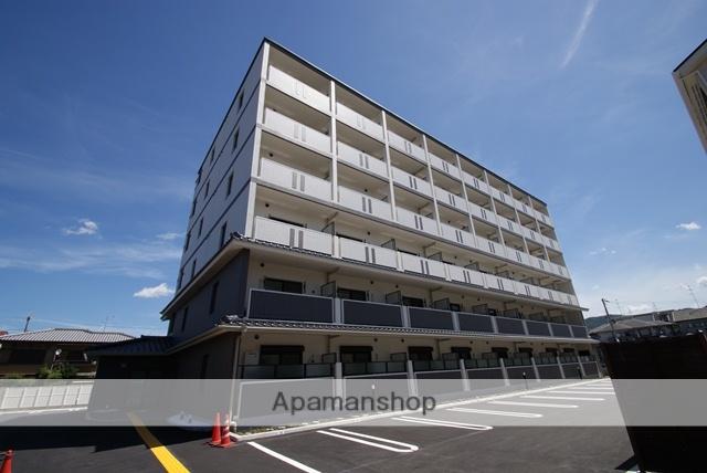 京都府宇治市、木幡駅徒歩16分の築1年 6階建の賃貸マンション